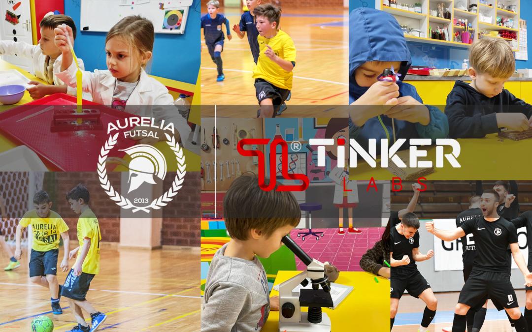 Tinker Labs je novi generalni sponzor akademije